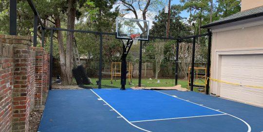 HoopPros.com   Houston Texas   Basketball   Driveways   Courts   Gyms