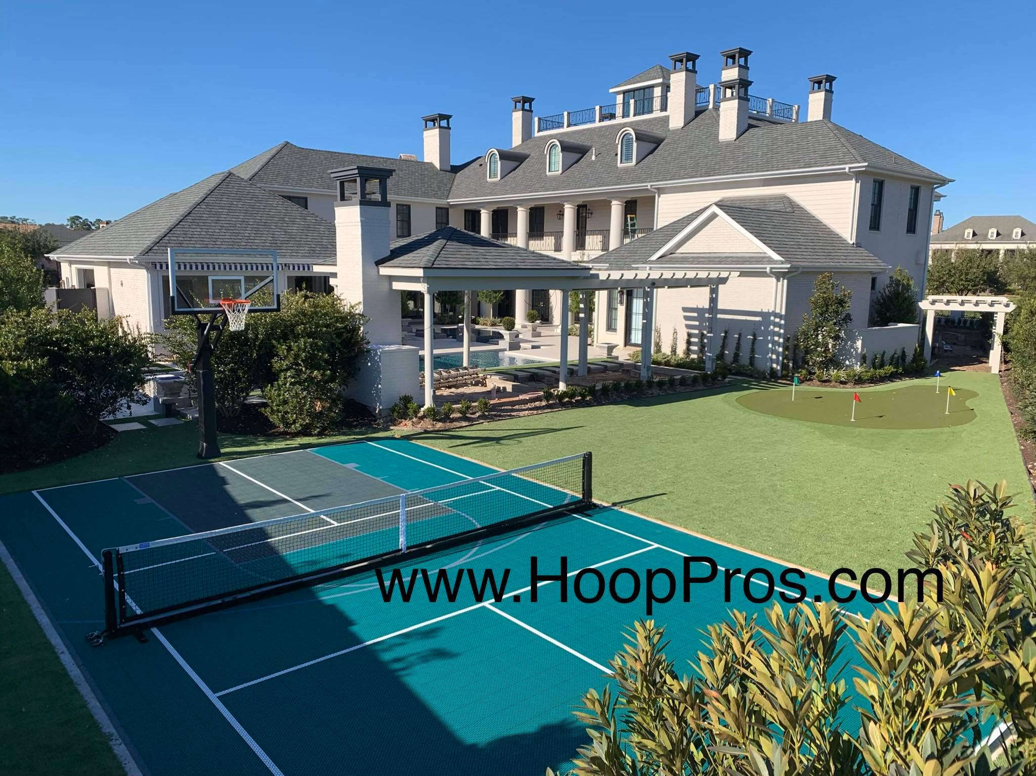 HoopPros.com | Houston Texas | Basketball | Driveways | Courts | Gyms